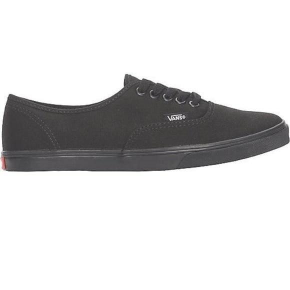 51357e6ae07 Vans Authentic Lo Pro All Black Shoes Women s. M 5b63682fbb7615bcac625711